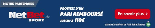 Netbet.fr partenaire officiel de l'ASSE