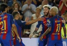 Pronostic Gijon Barcelone Liga 2016-2017